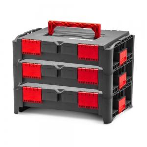 Lot de 3 coffrets empilables BEPS1 - Constructor