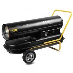 Canon à chaleur diesel 50 KW avec roues - Warm Tec