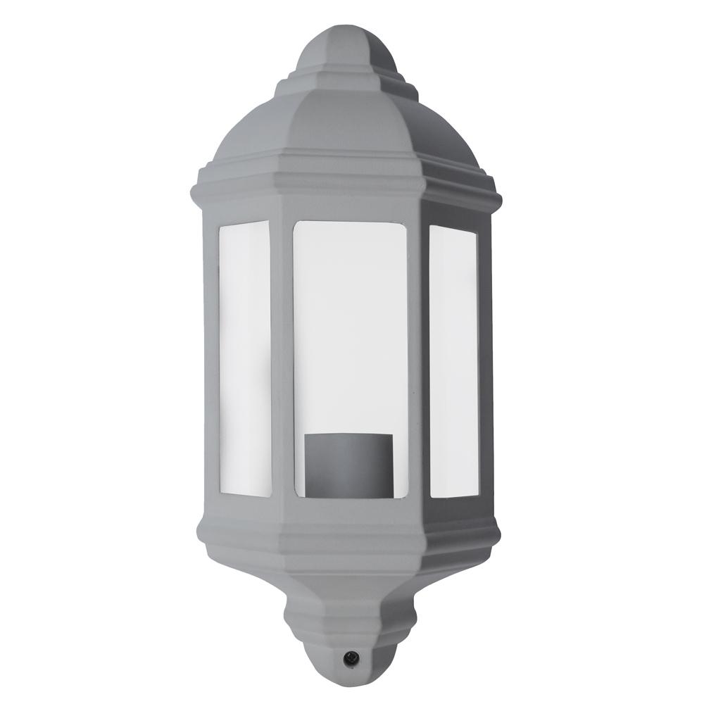 Demi applique E27 60W Blanc - I-Watts Outdoor