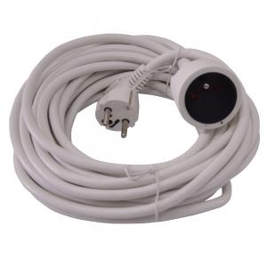 Allonge électrique 10m-3g*1.5mm2 Blanc - I-Watts