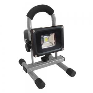 SPOT LED RECHARGEABLE 10W SUR BASE