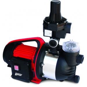 Pompe d'arrosage 1100W avec système électronique