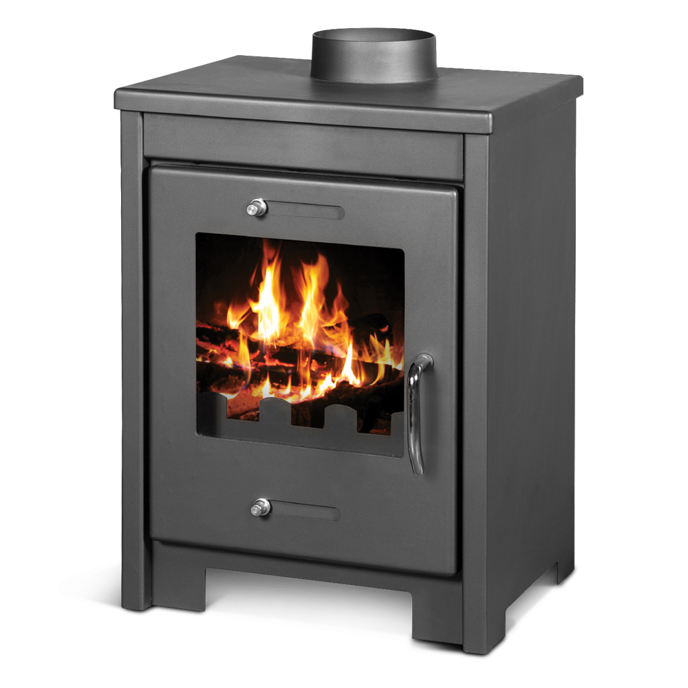 Poele à bois max 12KW - Warmtech