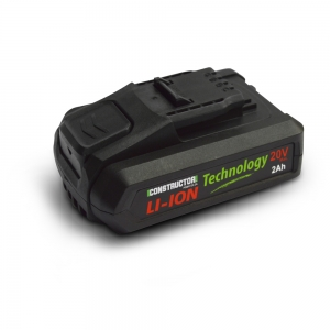 Batterie Lithium max 20V - 2Ah - Constructor