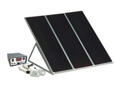 Solution d'appoint énergie solaire 45W
