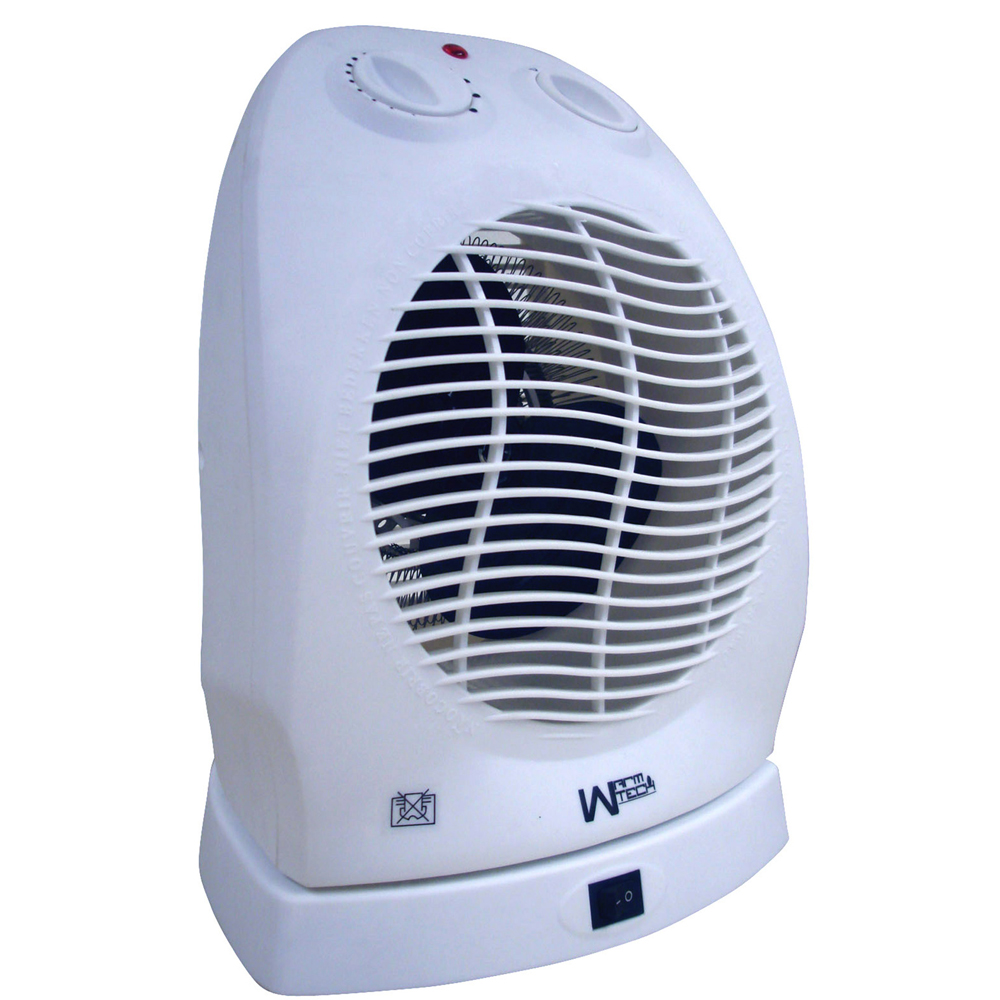 Radiateur soufflant 2000W oscillant - Warm Tech